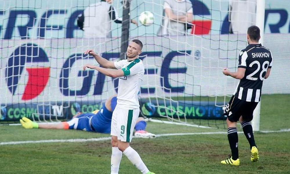 ΠΑΟΚ-Παναθηναϊκός 2-0: Το γκολ του Μάτος