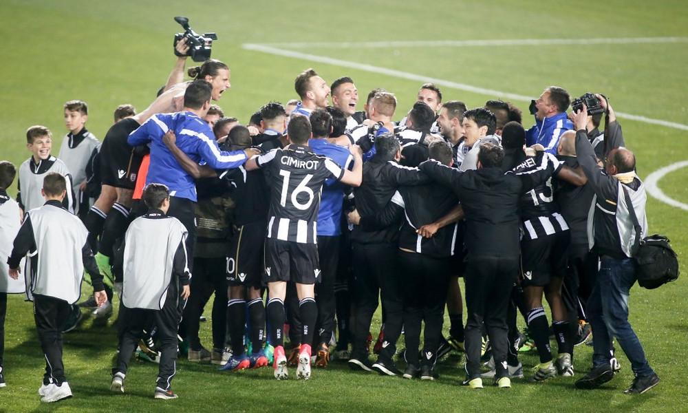 ΠΑΟΚ-Παναθηναϊκός 4-0: Τα γκολ του αγώνα