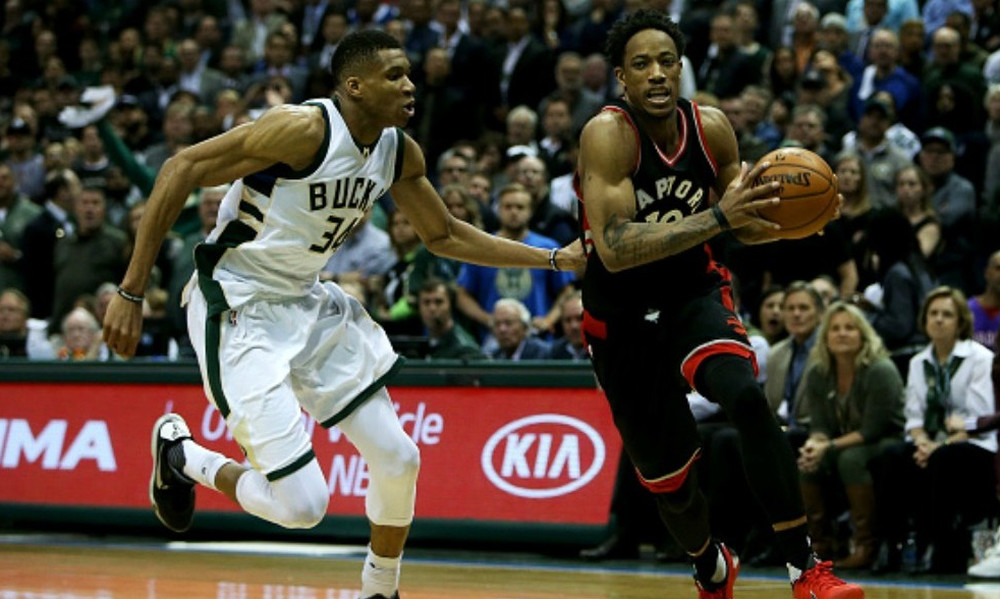 NBA Top 5: Ο ΝτεΡόζαν και Giannis «πετάνε»!