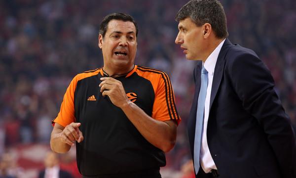 Περάσοβιτς: «Οι διαιτητές ήταν πολύ αυστηροί με εμάς»