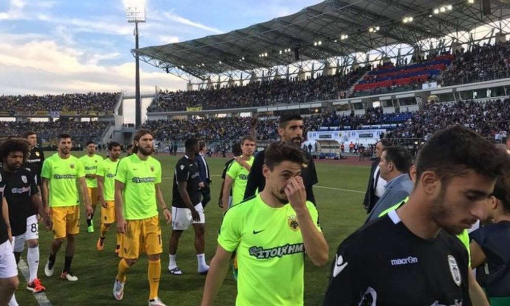 ΠΑΟΚ-ΑΕΚ: Η κίνηση των ποδοσφαιριστών μπροστά στο χάος!