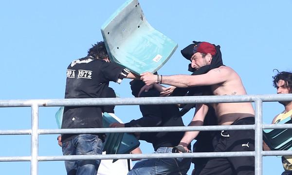 Τελικός Κυπέλλου: Απίστευτη ατάκα αστυνομικού στον Β' παρατηρητή!