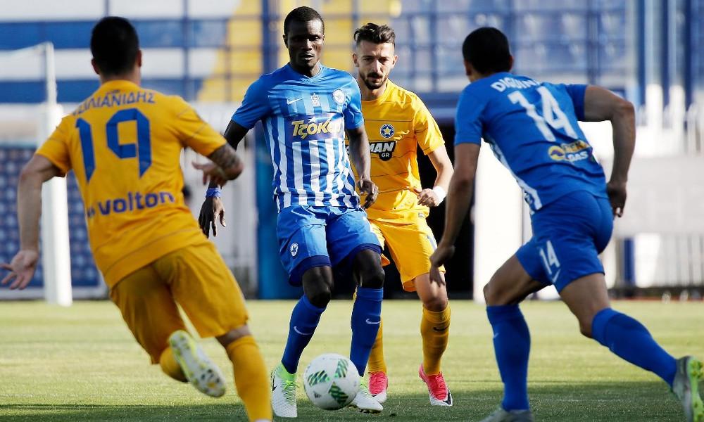 Αστέρας Τρίπολης-Ατρόμητος 0-1: Φιλική νίκη στο «Θ. Κολοκοτρώνης»