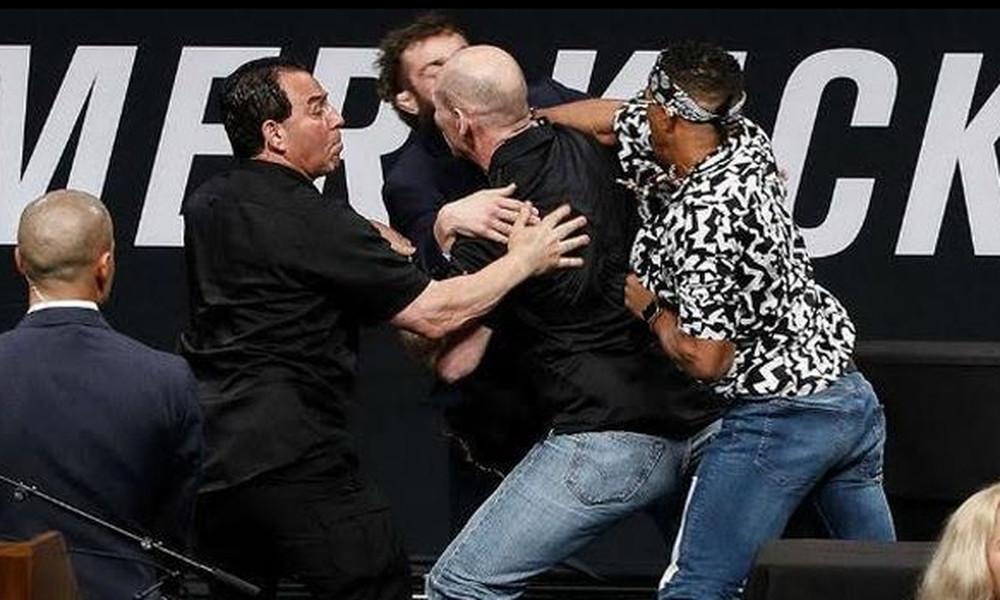 UFC: Όταν η συνέντευξη Τύπου μετατρέπεται σε ρινγκ