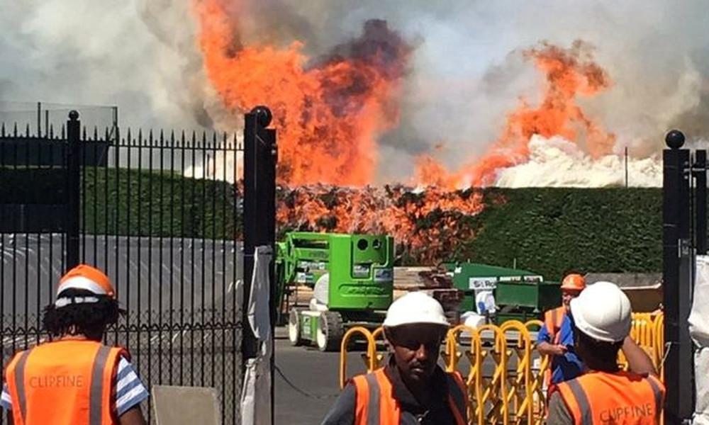 Συναγερμός με φωτιά στο Γουίμπλετον!