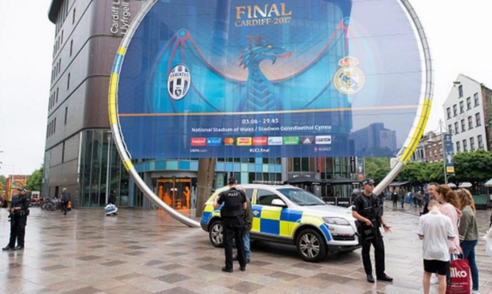 Τελικός Champions League: Δρακόντεια μέτρα ασφαλείας στο Κάρντφ