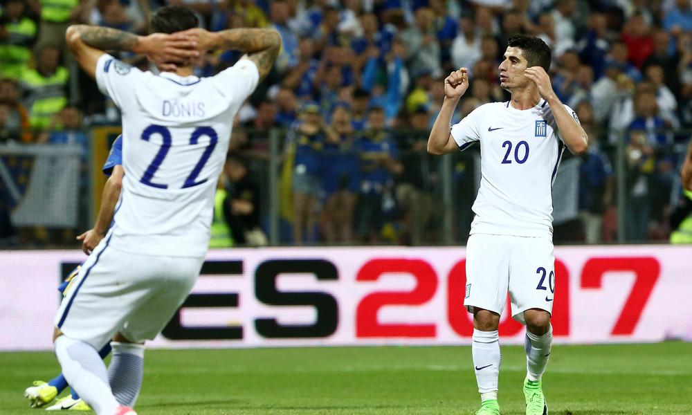 Βοσνία - Ελλάδα 0-0: Την κράτησε από... κάτω