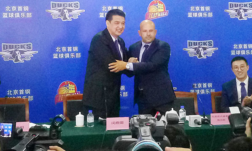 Δυο Έλληνες στην κινεζική Beijing Ducks!