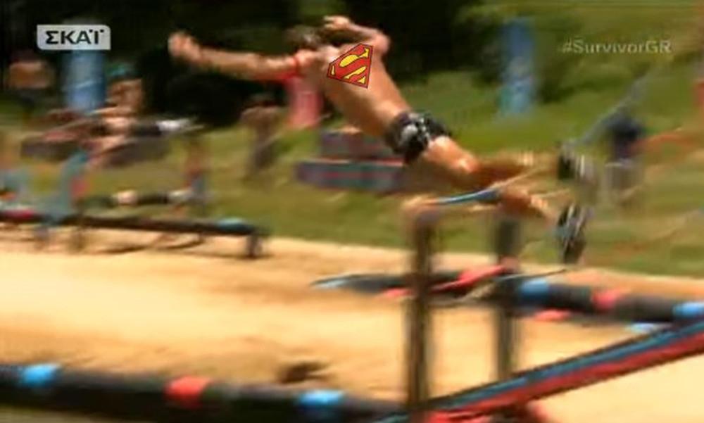Survivor: Έγινε… Superman ο Ντάνος!