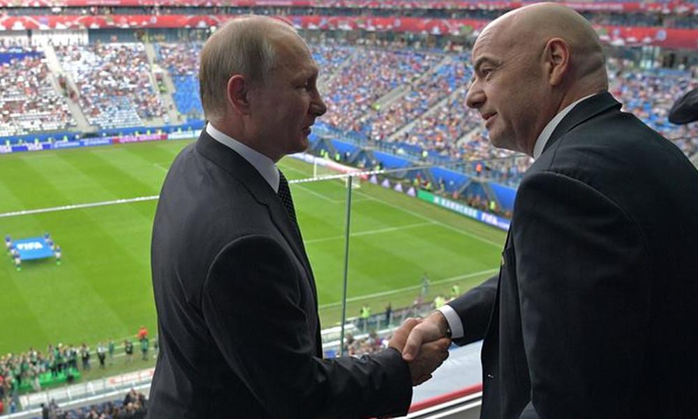 Πούτιν: Το ποδόσφαιρο πρέπει να προωθεί αξίες δικαιοσύνης