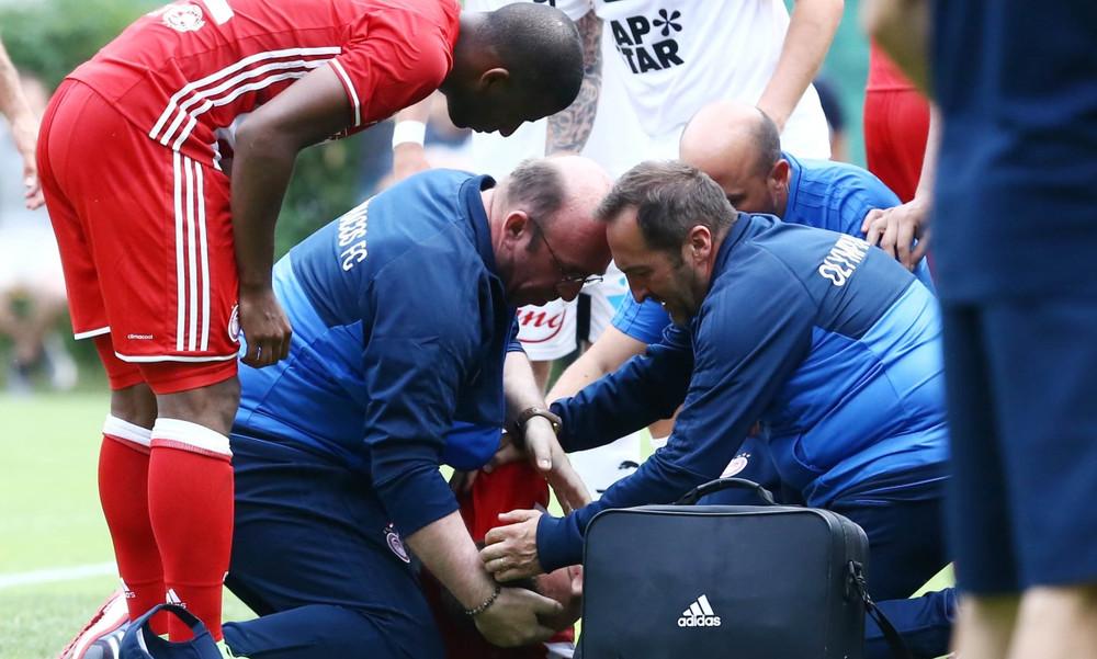 Ολυμπιακός: Καρέ-καρέ ο τραυματισμός του Ρέτσου