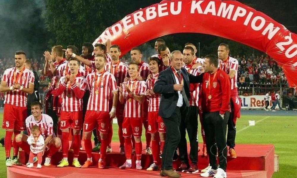 «Βόμβα» μεγατόνων στην Αλβανία! Αφαιρέθηκε το πρωτάθλημα της Σκεντέρμπεου λόγω στημένων αγώνων