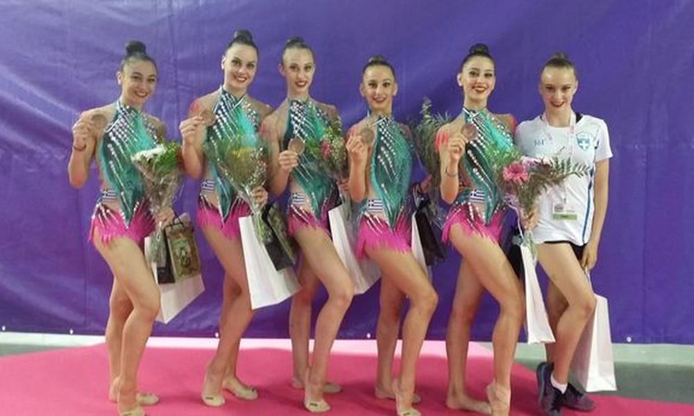 Χάλκινο μετάλλιο τα κορίτσια του ανσάμπλ στο Χολόν!
