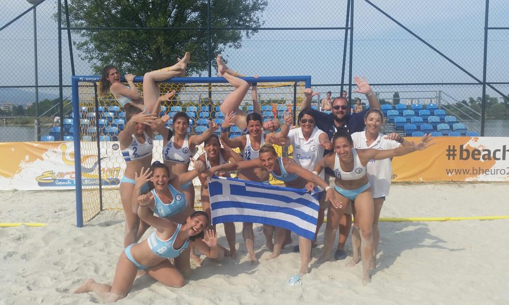 Beach Handball: Η Εθνική Γυναικών στο Παγκόσμιο Κύπελλο!