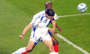Όταν Ζαγοράκης και Χαριστέας... ξέραναν τους «τρικολόρ»: Ελλάδα - Γαλλία 1-0! (photos+video)
