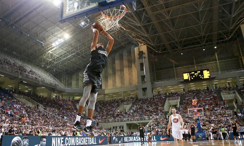 Antetokounbros 2017: Γιορτή του μπάσκετ και στο ΟΑΚΑ