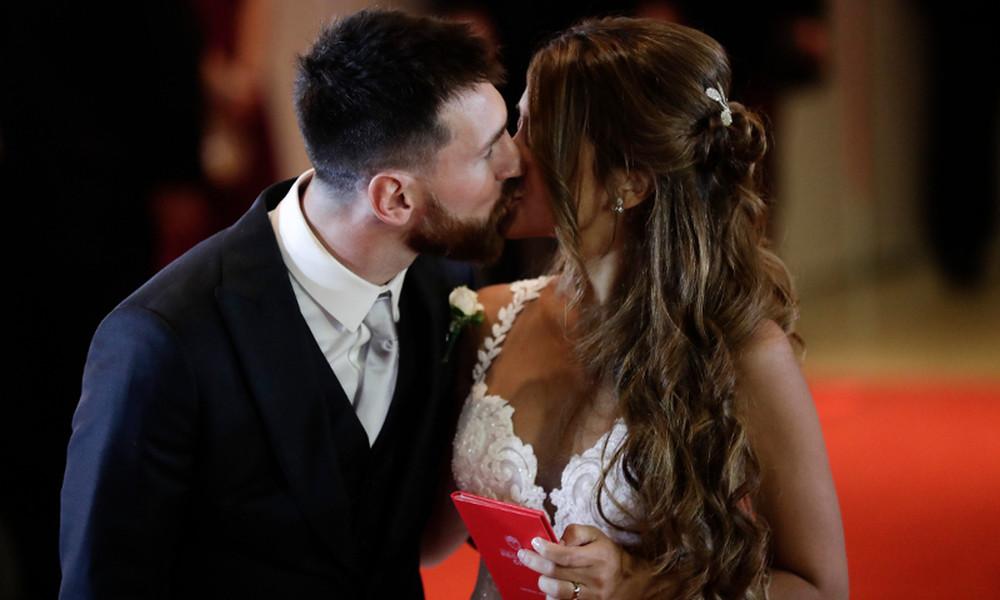Πανευτυχής ο Μέσι, παντρεύτηκε τη γυναίκα της ζωής του