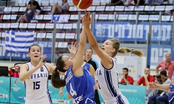 Ευρωπαϊκό Πρωτάθλημα Νέων Γυναικών: Νίκη-θρίλερ της Εθνικής επί της Σλοβακίας