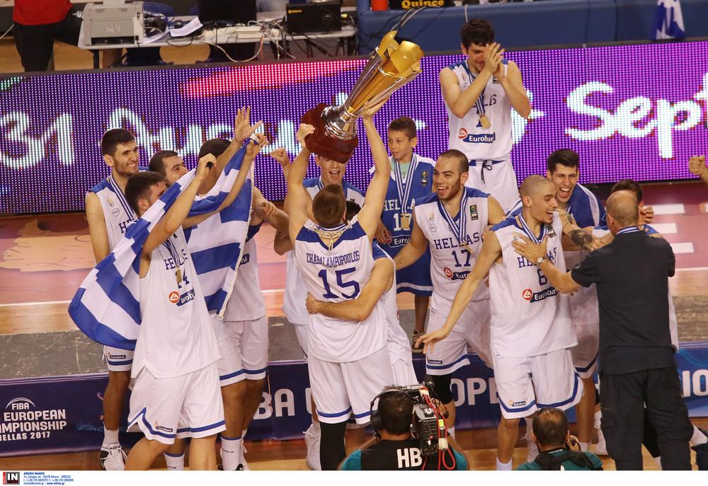 Ελλάδα-Ισραήλ 65-56: Πρωταθλήτρια Ευρώπης η Εθνική Νέων Ανδρών