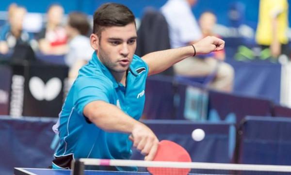 Ευρωπαϊκό πρωτάθλημα Πινγκ Πονγκ: «Χρυσός» ο Σγουρόπουλος