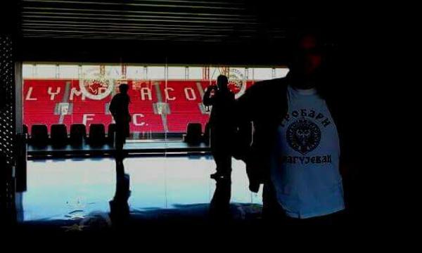 Συναγερμός στο Φάληρο: Οπαδοί της Παρτιζάν στο «Γ. Καραϊσκάκης»! (photos)