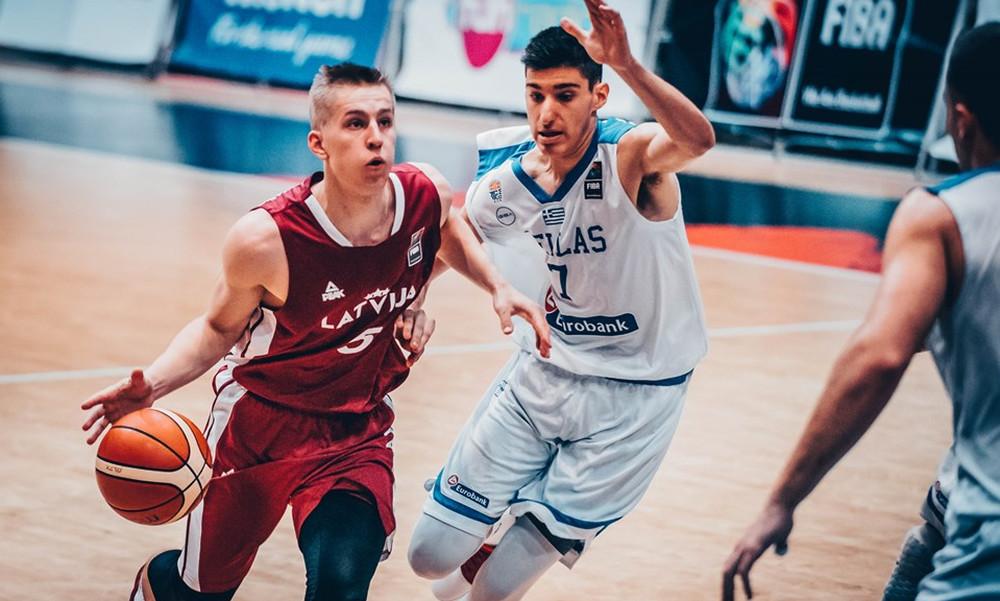 Εθνική Εφήβων: Νίκησε την Λετονία, με Τουρκία στους «8»