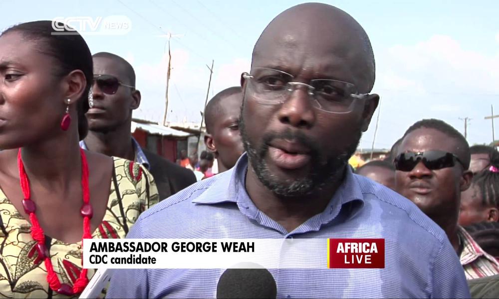 Λιβερία: Κατεβαίνει για πρόεδρος ο Γουεά