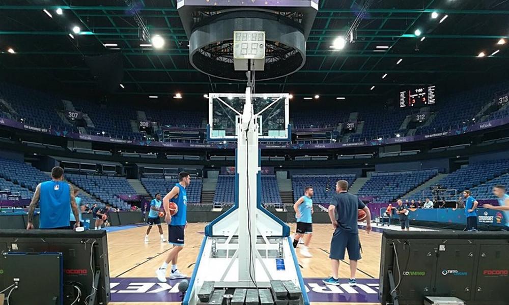 Ευρωμπάσκετ 2017: Μπήκε στο «Ελσίνκι Αρίνα» η Εθνική (pics)