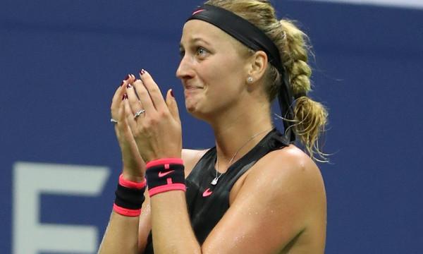 US Open: Η Κβίτοβα απέκλεισε την Μουγκουρούθα
