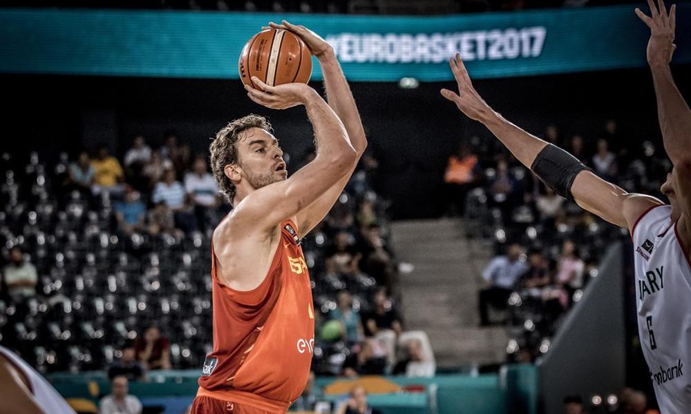 Ευρωμπάσκετ 2017: «Τρένο» η Ισπανία!