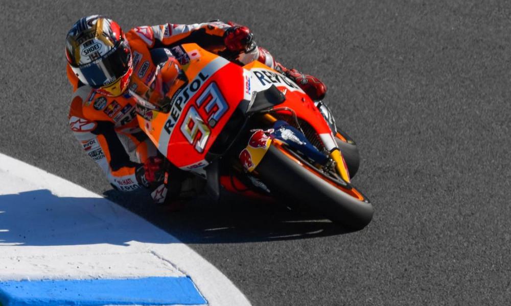 MotoGP: «Χόρευε» στη… βροχή ο Μάρκεθ