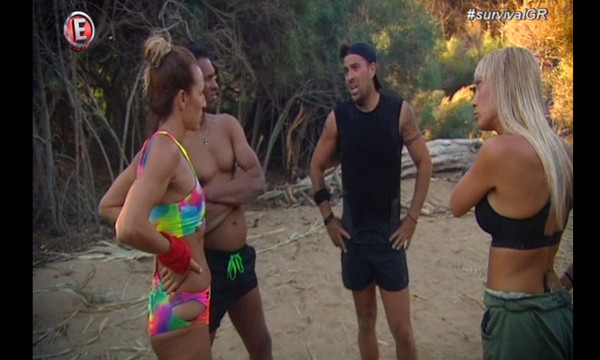 Survival: Ξεκίνησαν οι εντάσεις από το πρώτο κιόλας επεισόδιο