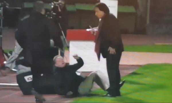 Απίστευτο! Ο πρόεδρος της Σιόν επιτέθηκε σε πρώην κόουτς του ΠΑΟΚ! (video)