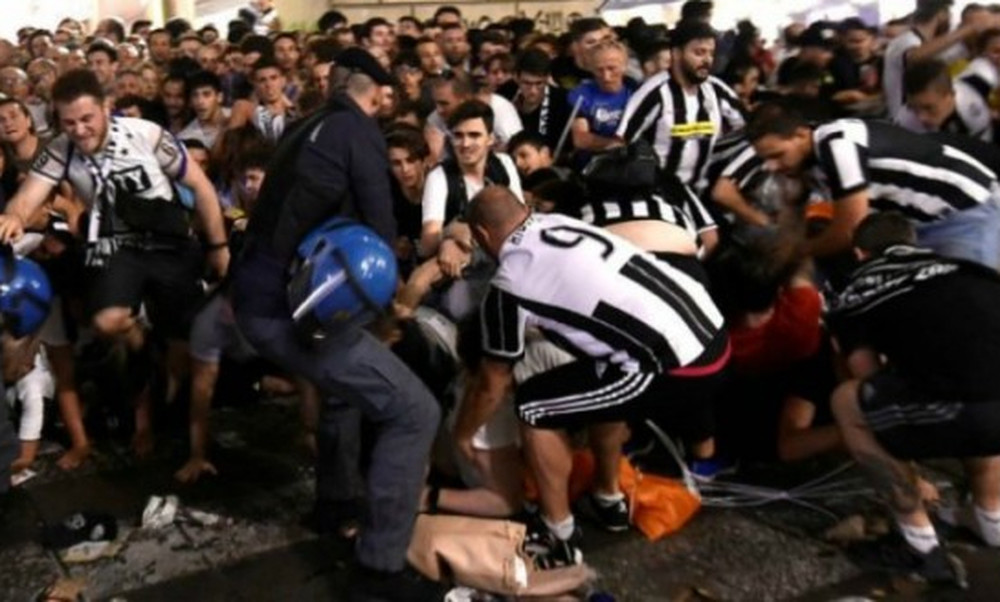 ΣΟΚ στο Γιουβέντους-Τορίνο: Νεκρός οπαδός!