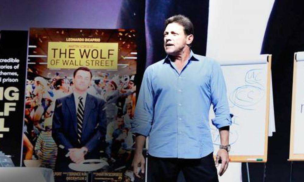 Στην Αθήνα για σεμινάριο ο πραγματικός «Λύκος της Wall Street»
