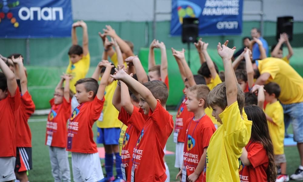 Οι Αθλητικές Ακαδημίες ΟΠΑΠ γιορτάζουν την Ευρωπαϊκή Εβδομάδα Αθλητισμού #ΒeActive
