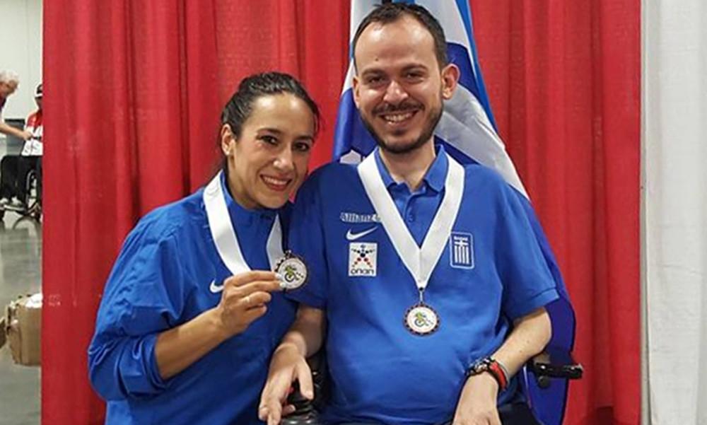 Χάλκινο μετάλλιο ο Πολυχρονίδης