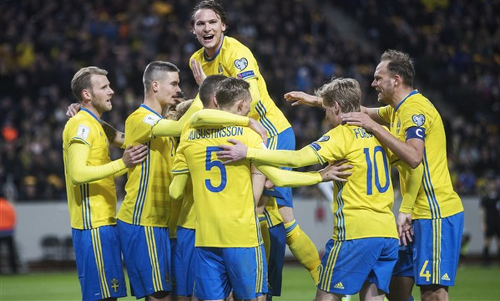 Βροχή… γκολ στην Σουηδία