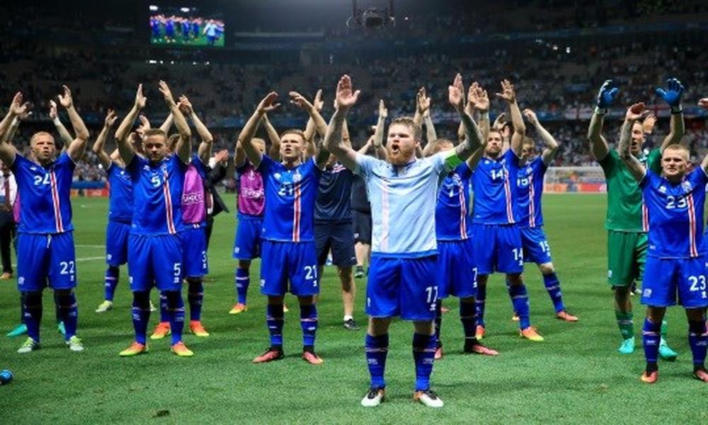 Ισλανδία: Επική κραυγή οπαδών και παικτών μετά την πρόκριση (video)