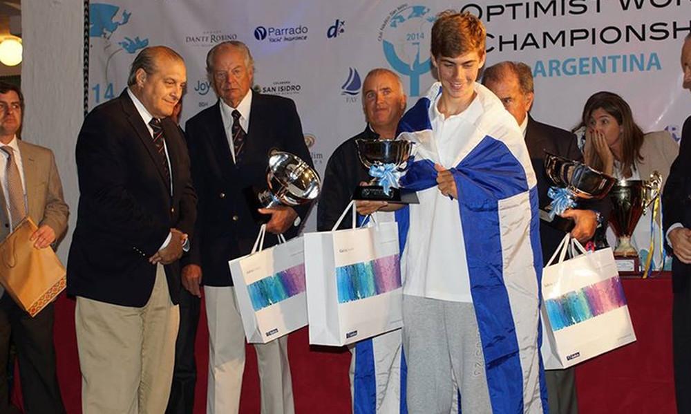 Ιστιοπλοΐα: Ο Παπαδημητρίου υποψήφιος για κορυφαίος νέος Ευρωπαίος αθλητής