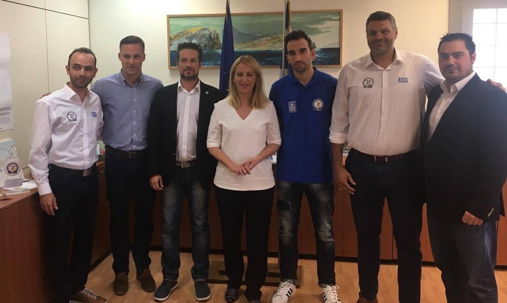 Τα συγχαρητήρια της Δούρου στους πρωταθλητές Ευρώπης!