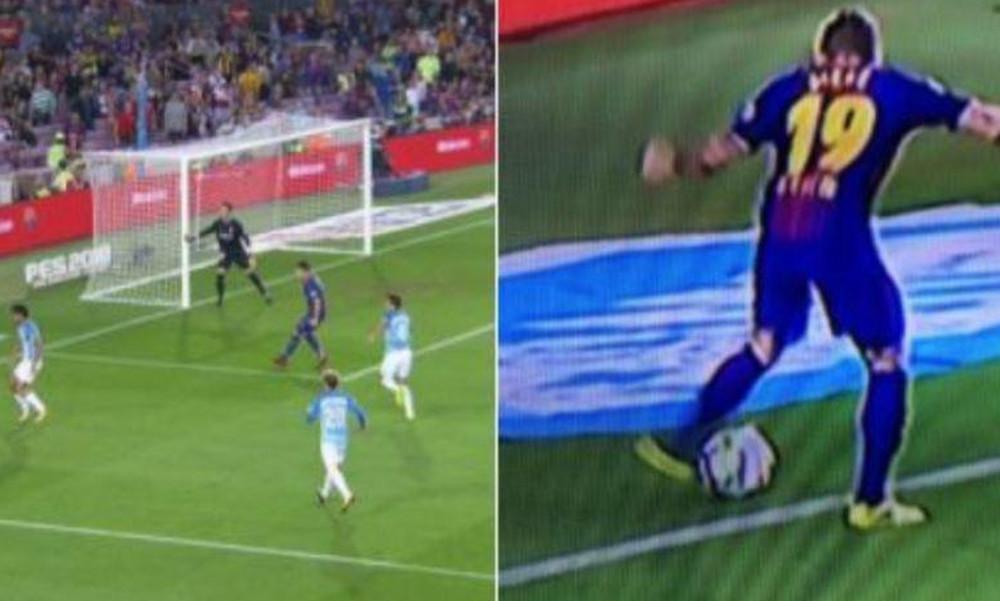 Σκάνδαλο: Kάλπικο γκολ από Μπαρτσελόνα κόντρα σε Μίτσελ! (vid, pics)