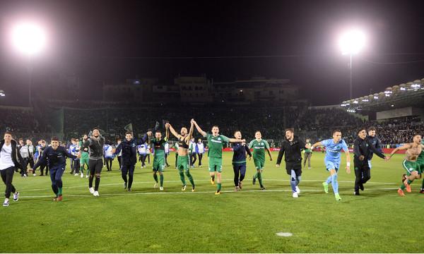 Παναθηναϊκός-Ολυμπιακός: Οι «τρελοί» πανηγυρισμοί μετά τον «πράσινο» θρίαμβο! (pics)