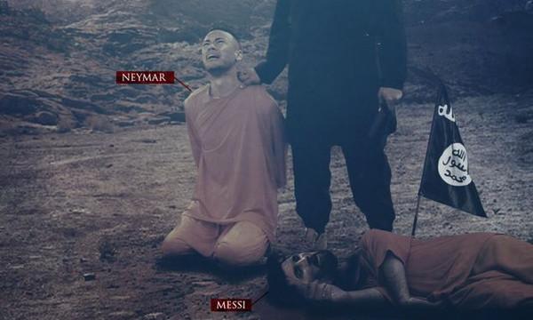 Σοκ! Ο ISIS απειλεί και Νεϊμάρ μετά τον… νεκρό Μέσι! (photo)