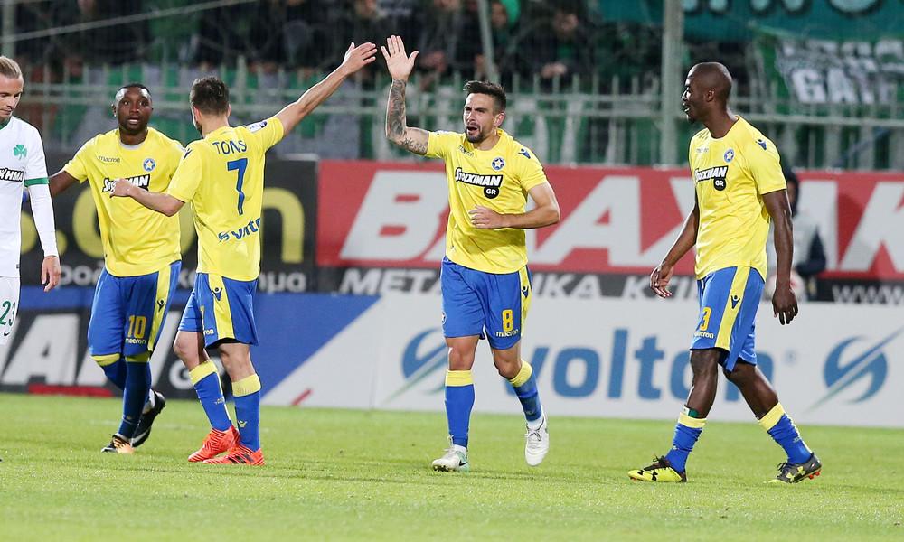 Αστέρας Τρίπολης-Παναθηναϊκός 1-0: Τον «πλήγωσε» ο Μουνάφο