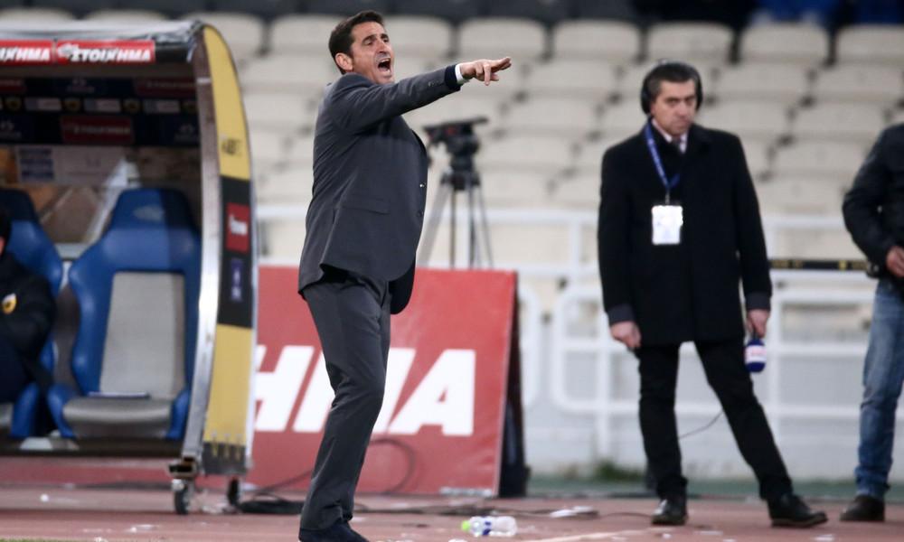 ΑΕΚ: Η συγγνώμη του Χιμένεθ μπροστά στους παίκτες του!