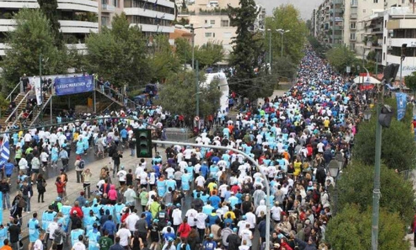 Μαραθώνιος Αθήνας: Η εκκίνηση και η Αυθεντική διαδρομή