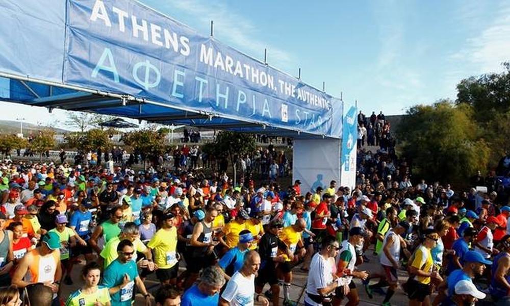 35ος Μαραθώνιος Αθήνας: Αυτοί οι δρόμοι θα κλείσουν αύριο Κυριακή (12/11)