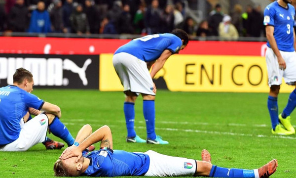 Ζημιά εκατομμυρίων στην Ιταλία φέρνει ο αποκλεισμός από το Μουντιάλ!