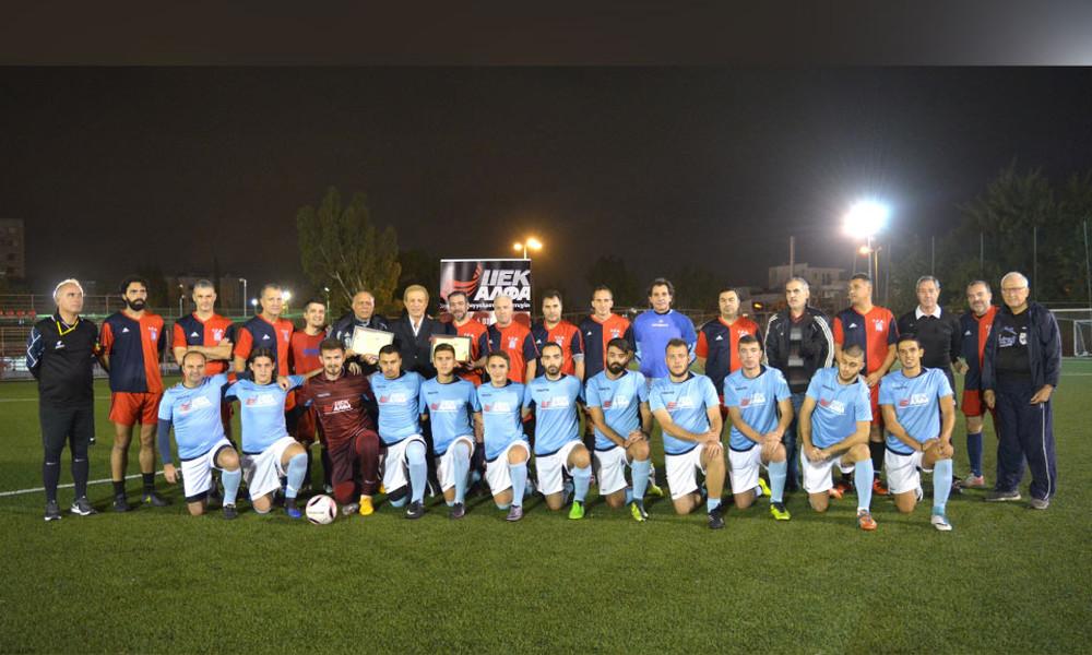 Νίκη επί της ΓΓΑ η ποδοσφαιρική ομάδα ΙΕΚ ΑΛΦΑ & Mediterranean College